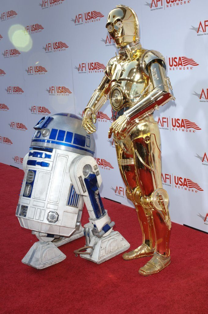 Star Wars Characters R2D2 and C3PO