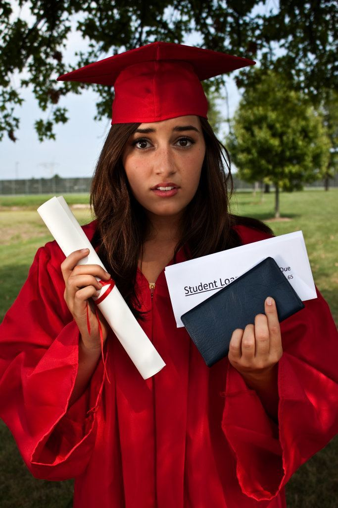 Student Loan Debt Concept