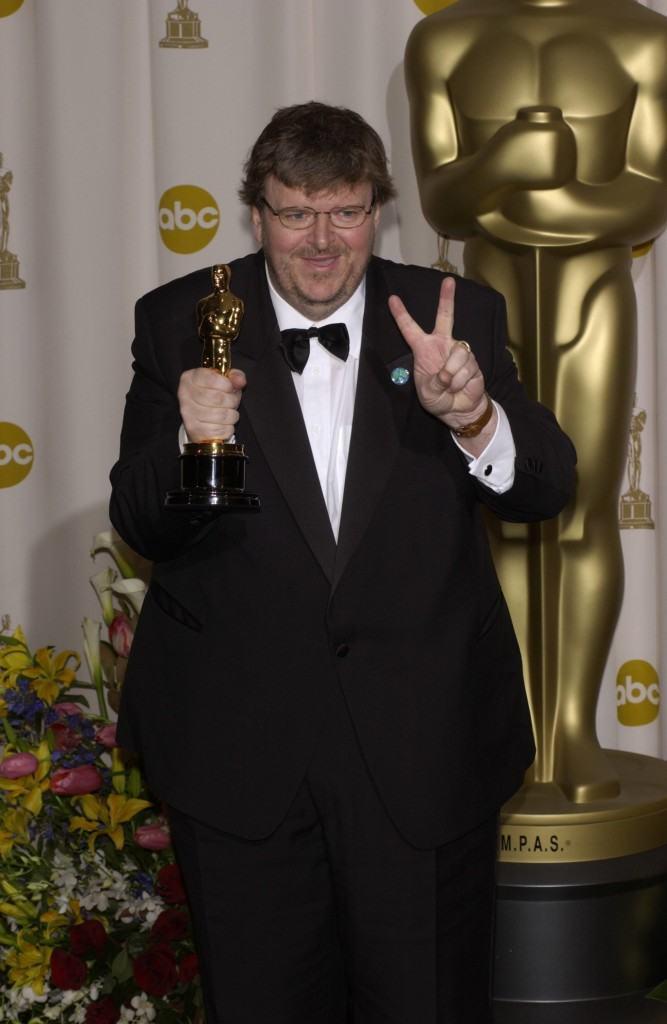 Director Michael Moore