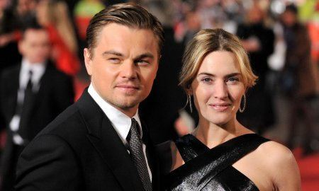 Kate Winslet and Leonardo