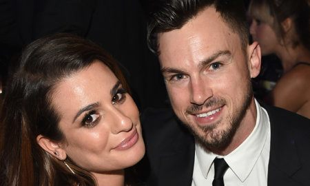 Lea Michele and Mattew Paetz