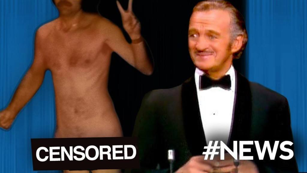 Nude Streaker at Oscars