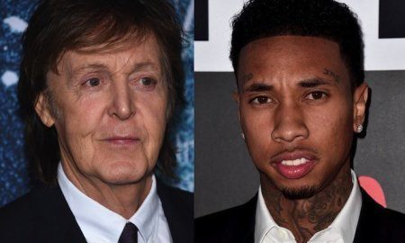 Paul McCartney and Tyga