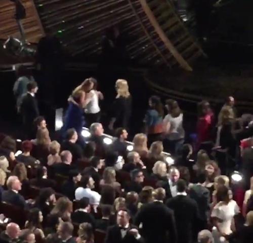 Brie Larson at Oscars