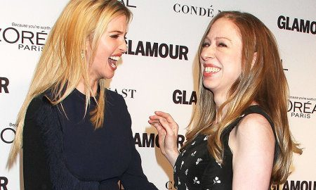 Chelsea Clinton and Ivanka Trump