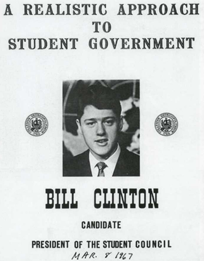 Clinton for student council