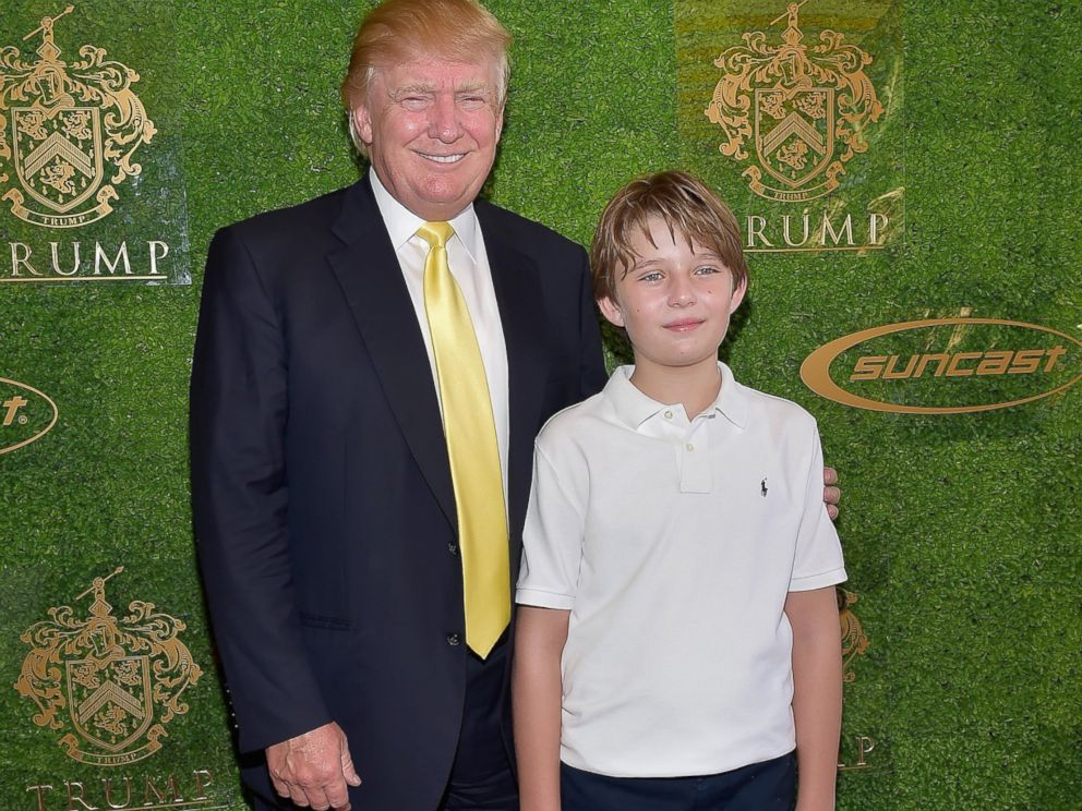 Donald and Barron