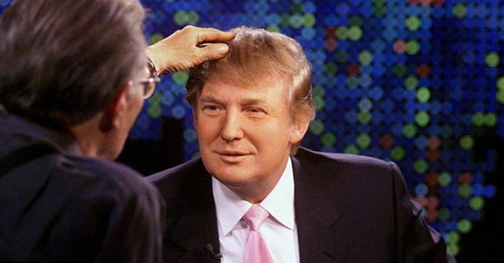 Donald's real hair