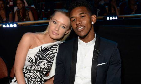 Iggy Azalia and Nick Young