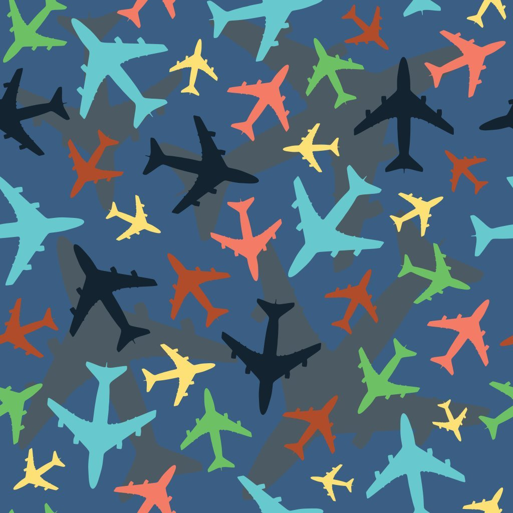 Pattern of Airplanes