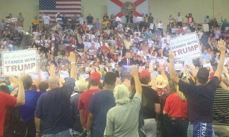 The Trump Salute