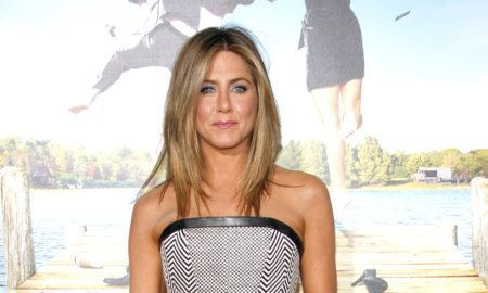 "Jennifer Aniston At The Los Angeles Premiere Of ""Wanderlust"" Held At The Mann Village Theatre In Los Angeles, Usa On February 16, 2012."
