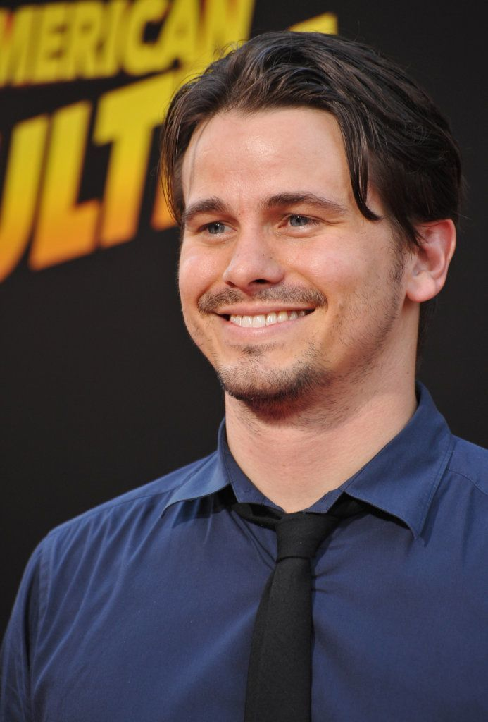 "Los Angeles, Ca - August 18, 2015: Jason Ritter At The World Premiere Of ""American Ultra"" At The Ace Hotel Downtown."