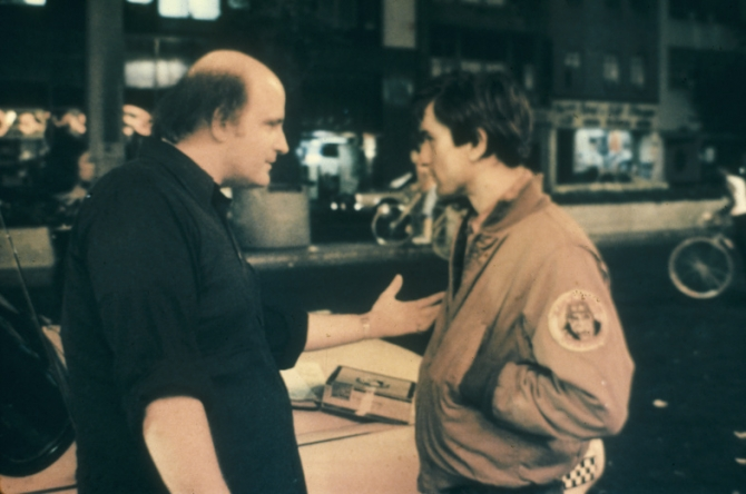 Peter Boyle in Taxi