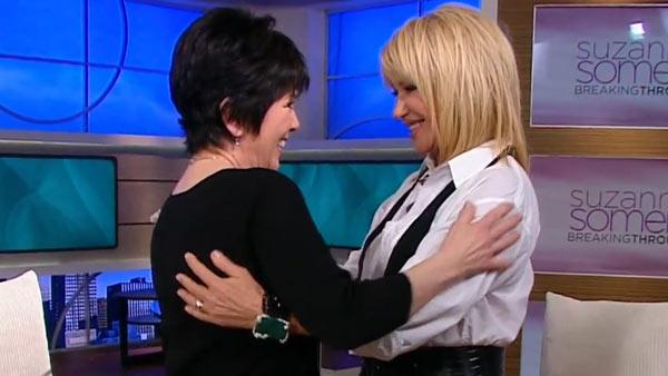 Suzanne Somers and Joyce DeWitt