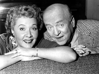 Vivian and Frank from I love Lucy