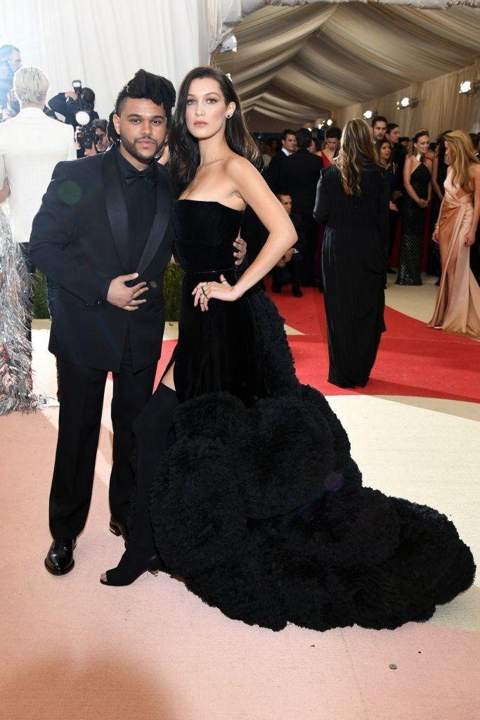 Bella and Weeknd met gala