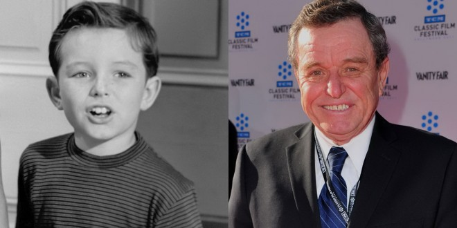 Jerry Mathers then and now
