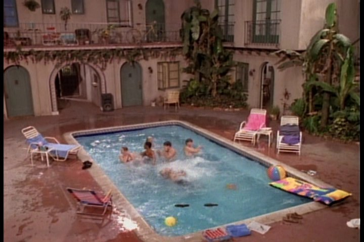 Melrose Place pool