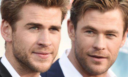 Chris and Liam Hemsworth