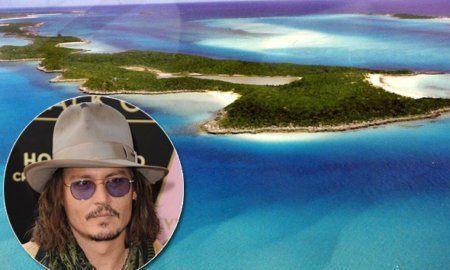 johnny depp bahamas