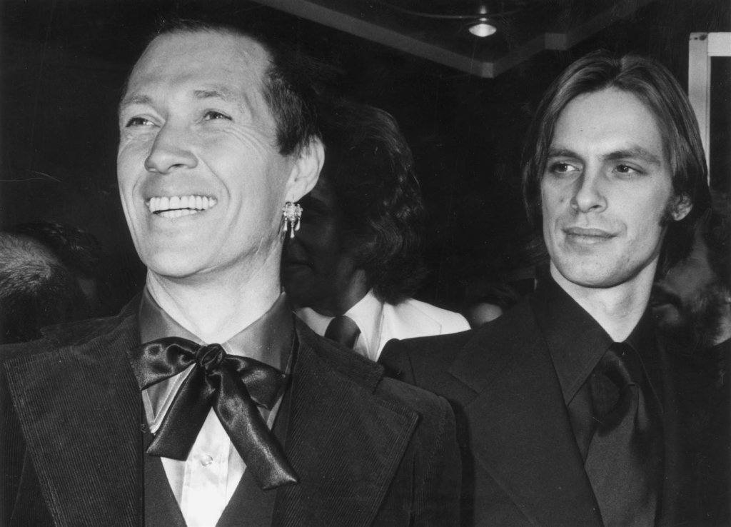 Keith and David Carradine