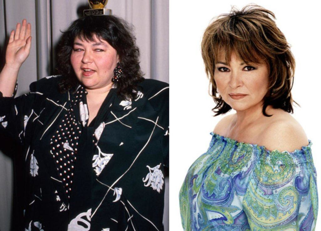 Roseanne before and after
