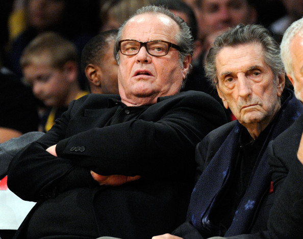 Harr Dean Stanton and Jack Nicholson