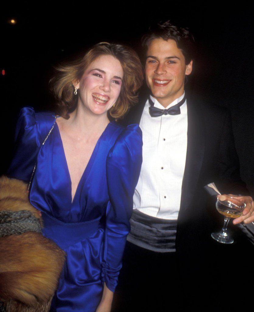 Melissa Gilbert and Rob Lowe