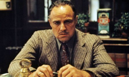 Brando as the godfather