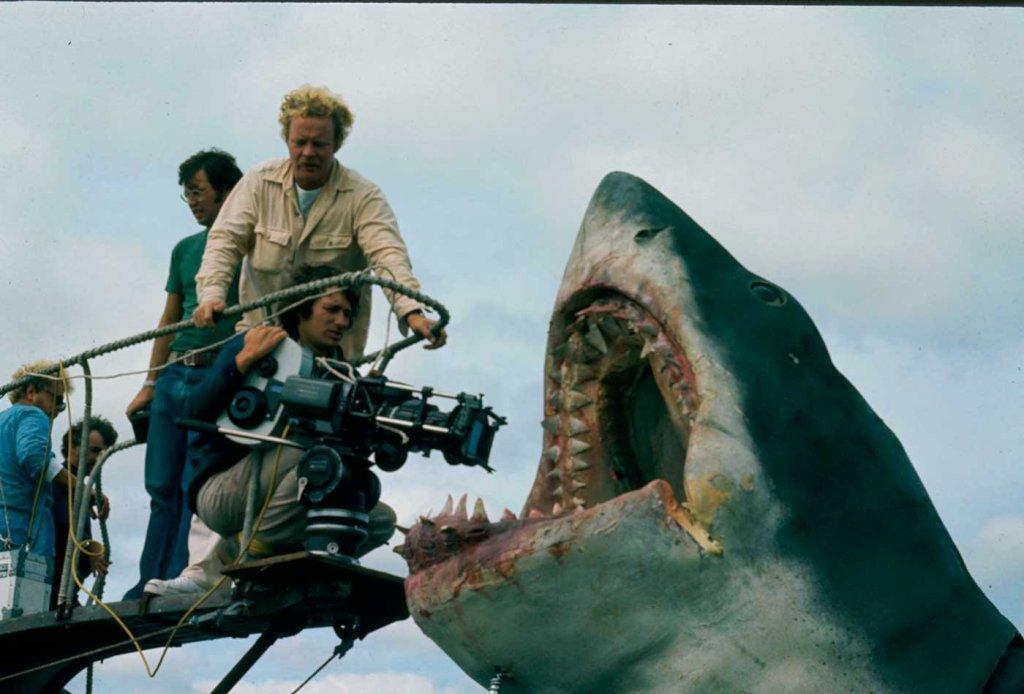 Jaws movie shoot