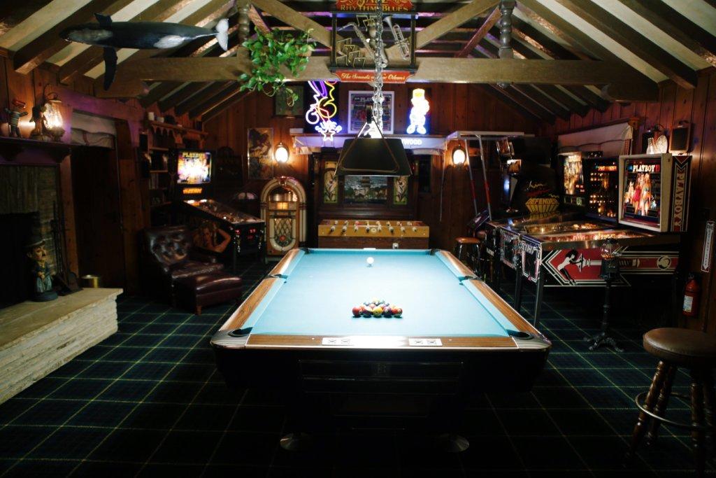 Playboy game room