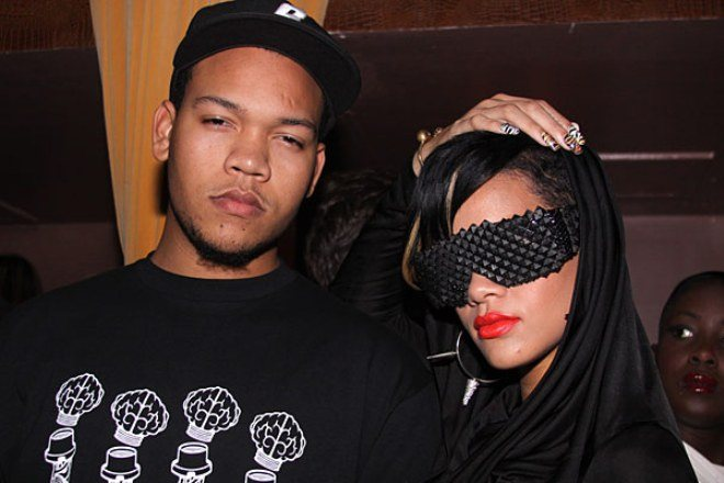 Rorrey Fenty and Rihanna