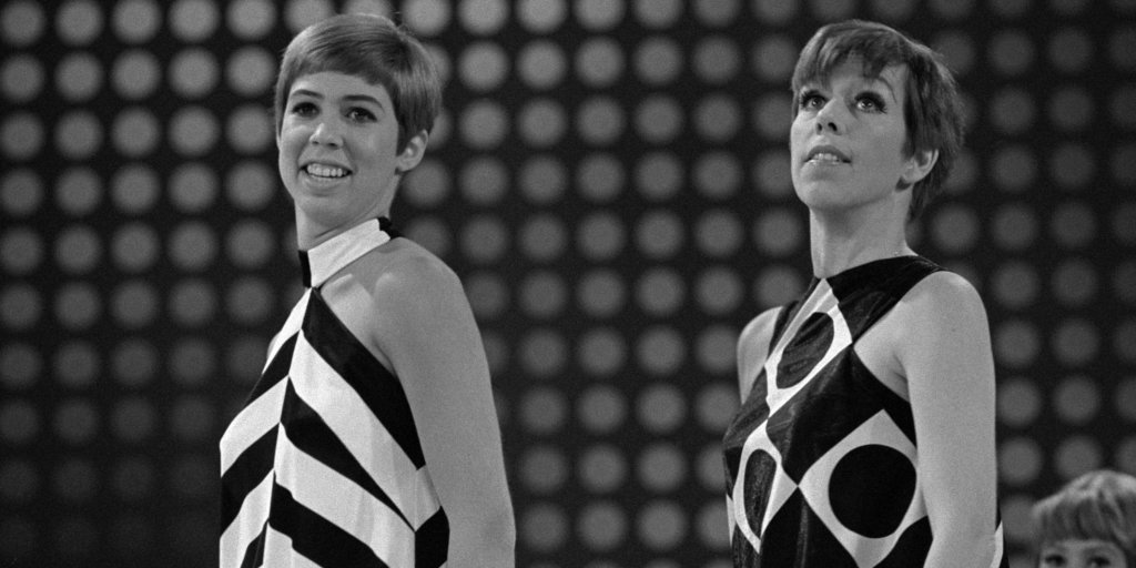 Vicki Lawrence and Carol Burnett