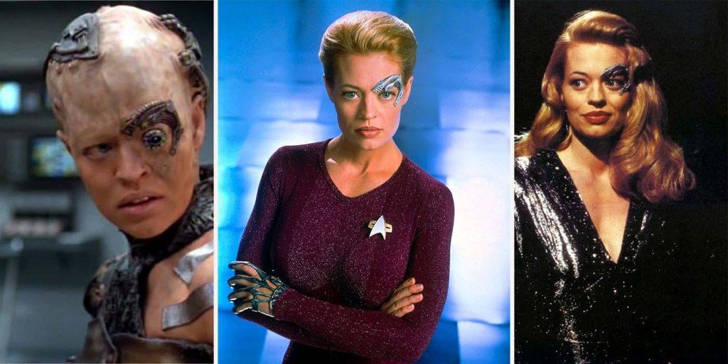 Jeri Ryan as Seven of Nine Star Trek Voyager