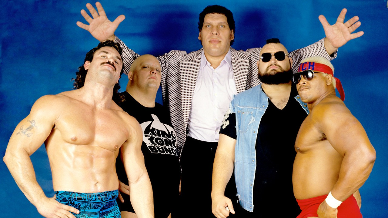 Andre the Giant, One Man Gang, King Kong Bundy, Butch Reed, Rick Rude
