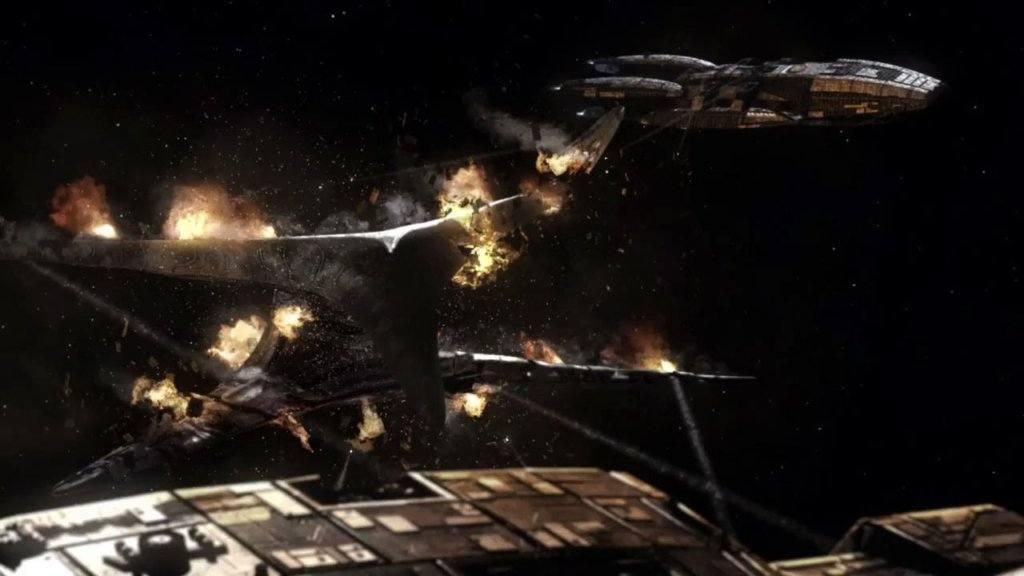 battlestar ship
