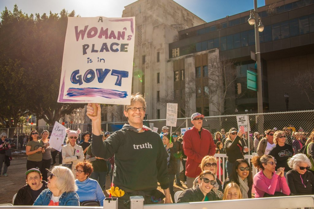 a womans place is in govt