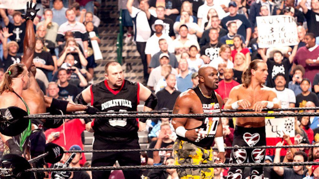 Shawn Michaels, RVD, Booker T, The Dudley Boyz