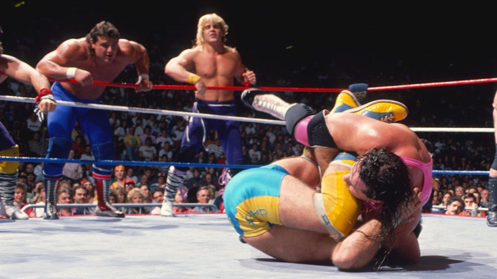 The Powers of Pain, The Rockers, The Hart Foundation, The Young Stallions, The British Bulldogs