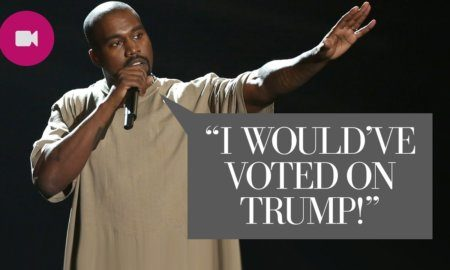 Crazy Kanye Supports Donald Trump