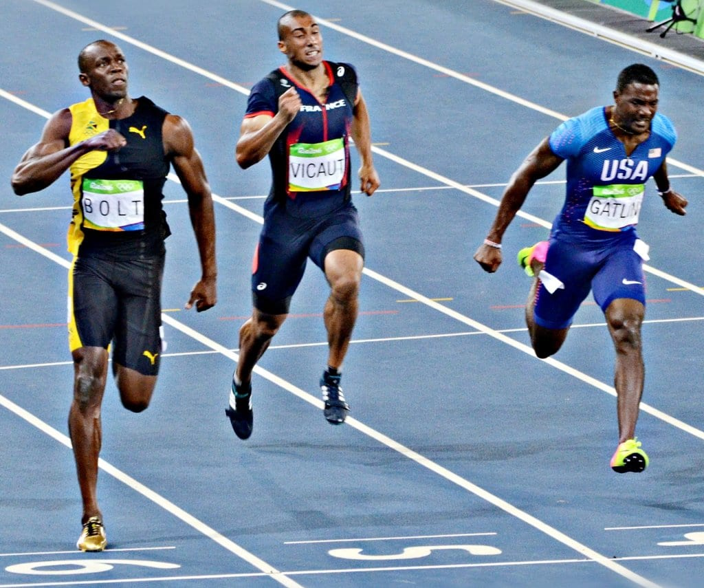 usain bolt track and field