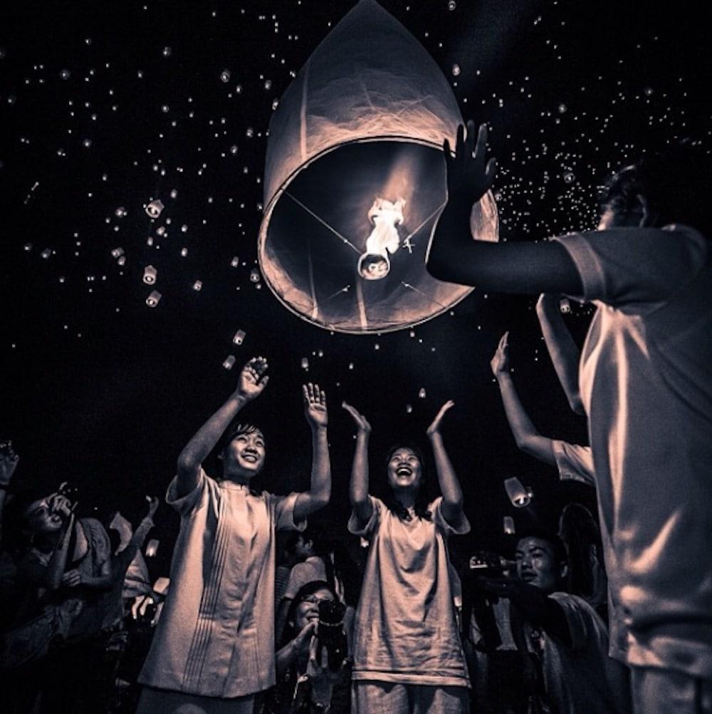 Yi Peng festival Thailand