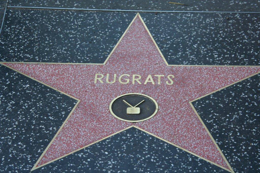 Rugrats Walk of Fame