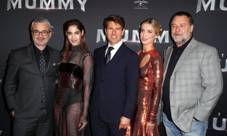 the mummy premiere