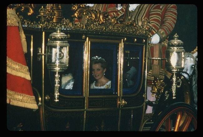 princess diana royal carriage