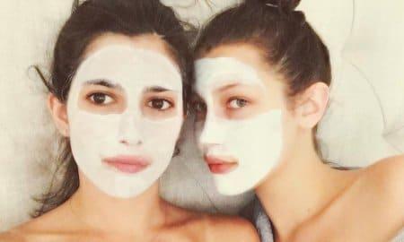 celeb face masks