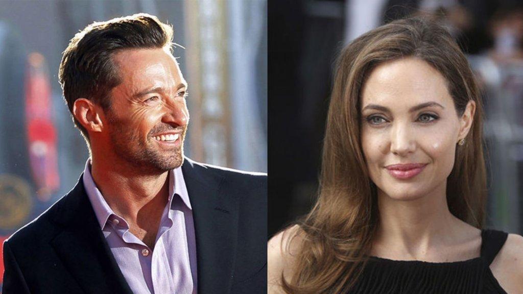Hugh Jackman Angelina Jolie