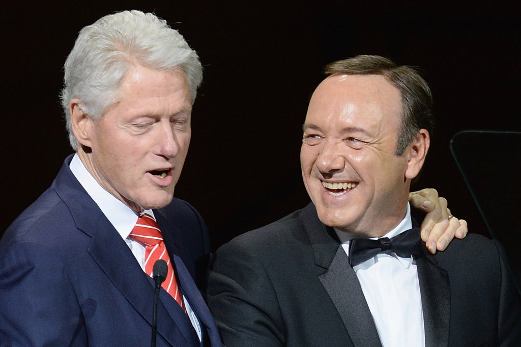 kevin spacey bill clinton