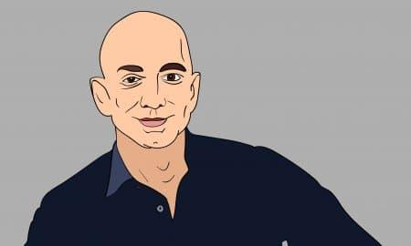 June 2017 Jeff Bezos Vector Portrait Stock Vector 664775596 - Shutterstock
